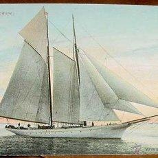 Postales: ANTIGUA POSTAL BARCO I. M. YACHT IDUNA - NO CIRCULADA - ESCRITA.. Lote 38247038