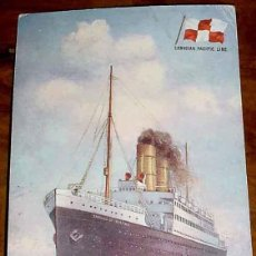 Postales: ANTIGUA POSTAL DEL BARCO S.S. EMPRESS OF IRELAND . CANADIAN PACIFIC LINE - TUCK´S POST CARD - SIN CI. Lote 38249780