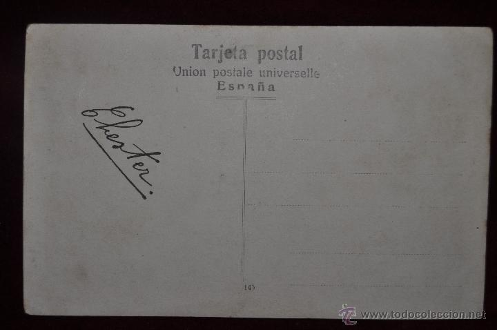 Postales: ANTIGUA POSTAL DEL CRUCERO LIGERO USS Chester (CL-1) DE LA ARMADA ESTADOUNIDENSE - Foto 2 - 40969175