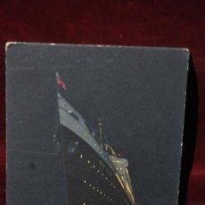 Postales: POSTAL PUBLICITARIA DE N.G.I. NAVIGAZIONE GENERALE ITALIANA -GENOVA- GIULIO CESARE. Lote 41058097
