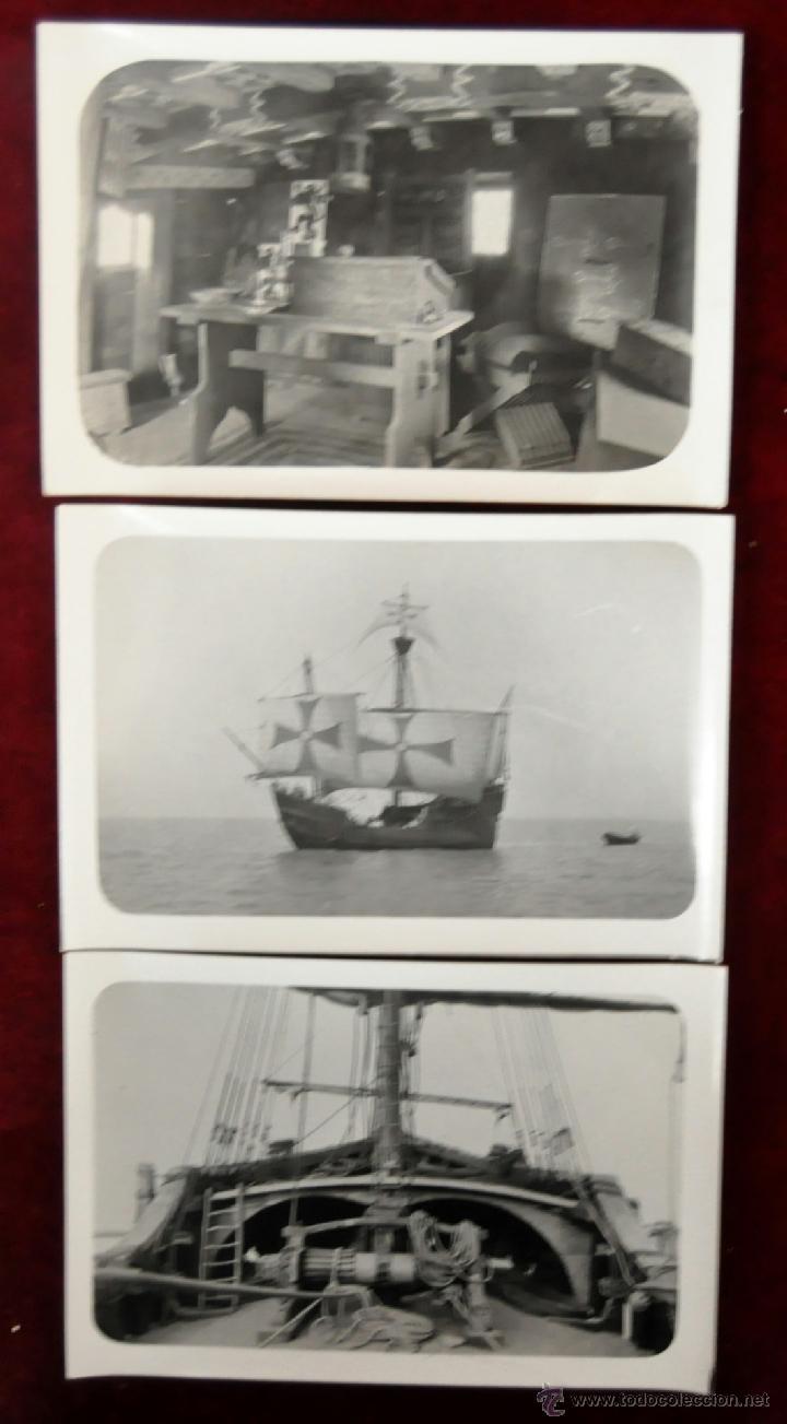 Postales: LOTE DE 9 POSTALES DE LA CARABELA SANTA MARÍA - Foto 3 - 41615411
