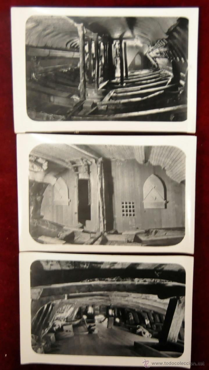 Postales: LOTE DE 9 POSTALES DE LA CARABELA SANTA MARÍA - Foto 4 - 41615411