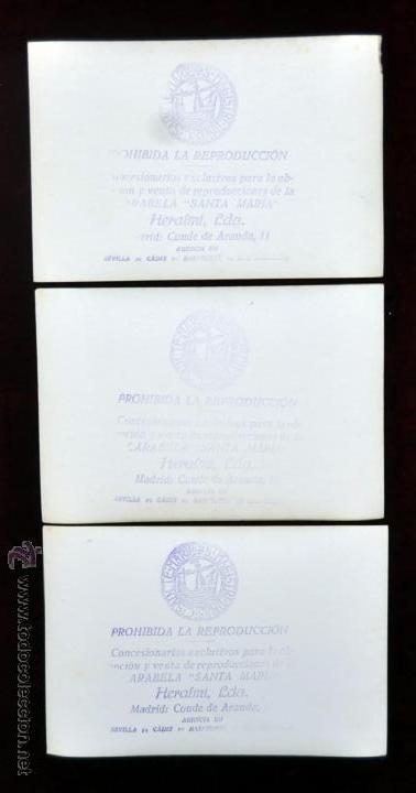 Postales: LOTE DE 9 POSTALES DE LA CARABELA SANTA MARÍA - Foto 5 - 41615411