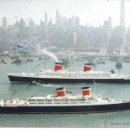 Postales: PS3860 POSTAL DE LOS BARCOS SS UNITED STATES Y SS AMERICA - SIN CIRCULAR. Lote 42106163