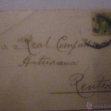 Postales: PUY Y LETAMENDIA. CONSIGNATARIOS. EXCEPCIONAL. DIFÍCIL ENCONTRAR. CIRCULADA AÑO 1927. Lote 42919033