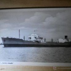 Postales: ANTIGUA POSTAL - M/S CAROLA SCHULTE - ESCRITA 1961 -. Lote 43064939
