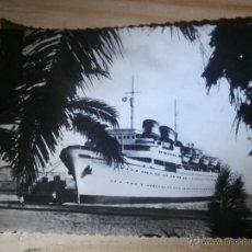 Postales: ANTIGUA POSTAL - LUCANIA - LINEA RÁPIDA VENEZUELA Y CENTRO AMERICA - ESCRITA 1957 -. Lote 43064947