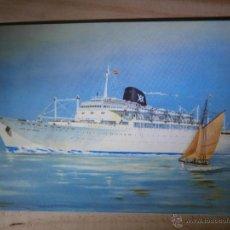 Postales: POSTAL - CABO SAN ROQUE / SAN VICENTE - YBARRA Y CIA, S.A - BARCO - ESCRITA 1967. Lote 43201440