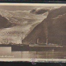 Postales: TARJETA POSTAL DE BARCO - SVARTISCH - NORDLAND. 26994. WILSE FOTO ENERET.. Lote 43286282