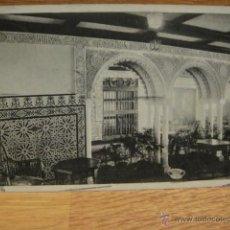 Postales: COMPAÑIA TRASATLANTICA - V. C. ALFONSO XIII Y CRISTOBAL COLON - POSTAL CIRCULADA EN 1917. Lote 43480346