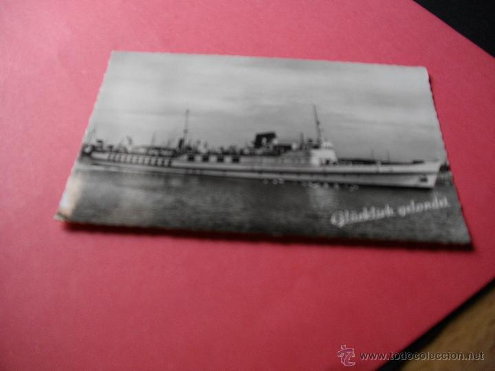 PRECIOSA POSTAL DE BARCO (Postales - Postales Temáticas - Barcos)
