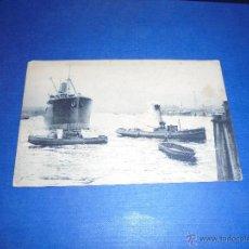 Postales: ANTIGUA POSTAL BARCOS 14X9 CM. . Lote 45401667