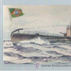 Postales: TARJETA POSTAL DE BARCO, MARINA DE GUERRA BRASIL SUBMARINO TAMOYO. Lote 45845884
