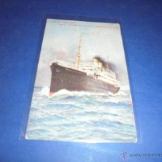 Postales: ANTIGUA POSTAL - LLOYD SABAUDO - VAPORI - TOMASO DI SAVOIA E PRINCIPE DI UDINE ,CIRCULADA 1912 - . Lote 46025234