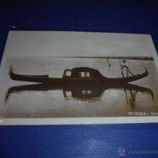 Postales: ANTIGUA POSTAL - VENEZIA - GONDOLA 14X9 CM. . Lote 46060665