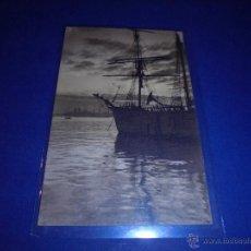 Postales: ANTIGUA POSTAL BARCOS CIRCULADA 1921 -14X9 CM. . Lote 46061015