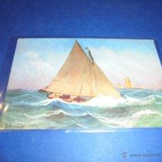 Postales: ANTIGUA POSTAL - BARCOS 14X9 CM.. Lote 46094435