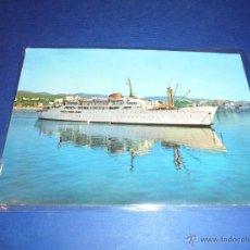 Postales: ANTIGUA POSTAL TRASATLANTICO - BUQUE CIUDAD DE BURGOS - CIRCULADA 1965 - 15X10 CM.. Lote 46095135
