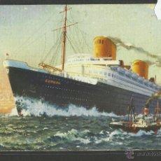 Postales: EUROPA LLOYD BREMEN - POSTAL DE BARCO - (24698). Lote 46666906