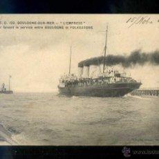 Postales: FRANCIA. BOULOGNE-SUR-MER. *L´EMPRESS* ED. ED Nº 123. CIRCULADA 1915.. Lote 11931781