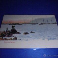 Postales: BARCOS - BAHIA DE IQUIQUE ( CHILE ) POSTAL CIRCULADA 1911 - 14X9 CM. . Lote 46772588