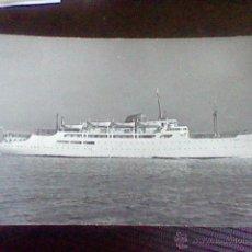 Postales: BARCO CIUDAD DE GRANADA AÑOS 60 POSTAL FOTOGRAFICA CIRCULADA 1962 *B16. Lote 47111966