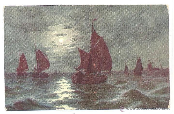 POSTAL BARCOS (Postales - Postales Temáticas - Barcos)