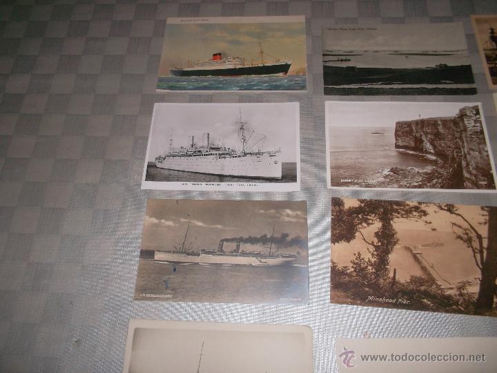 Postales: gran lote de 15 postales de barcos antiguos - Foto 4 - 47653945