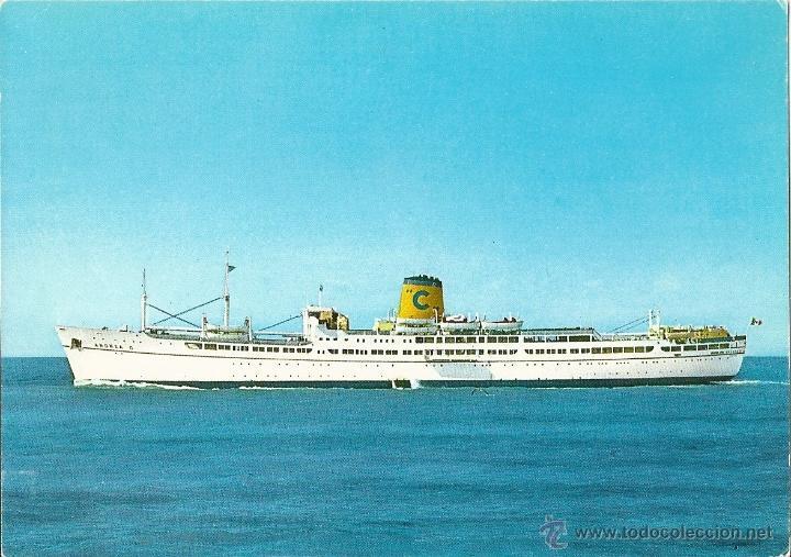 M/S ANDREA C (Postales - Postales Temáticas - Barcos)