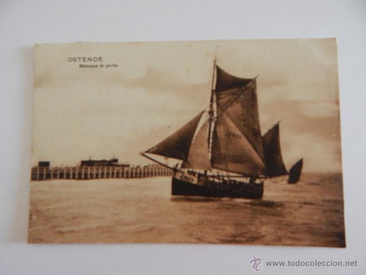 OSTENDE: BÂTEAUX DE PÊCHE (Postales - Postales Temáticas - Barcos)