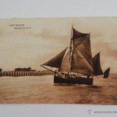 Postales: OSTENDE: BÂTEAUX DE PÊCHE. Lote 48441390