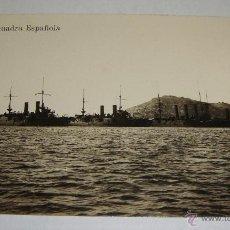 Postales: ANTIGUA FOTO POSTAL. ESCUADRA ESPAÑOLA.. Lote 49231554