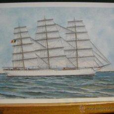 Cartes Postales: EMBARCACION BELGA , COMTE DE SMET DE NAEYER I. Lote 49648560
