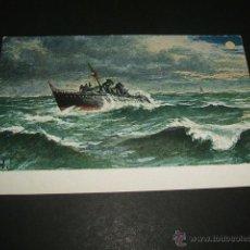 Postales: BARCO MARINA DE GUERRA POSTAL ANTERIOR A 1905. Lote 49707543