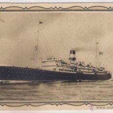 Postales: POSTAL DE BUQUES ORAZIO Y VIRGILIO .. Lote 49919421