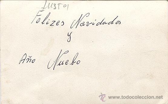 Postales: X113501 FELIZ NAVIDAD DESDE EL BARCO DE GUERRA SARMIENTO DE GAMBOA - Foto 2 - 49959353