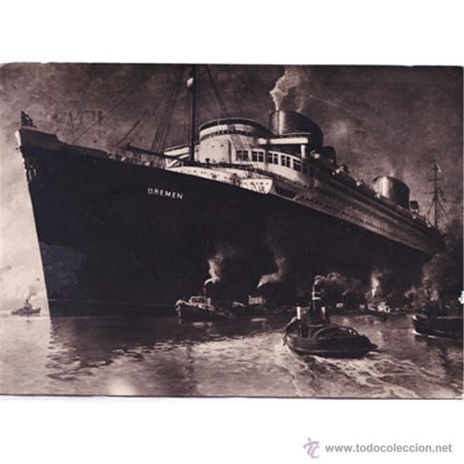BARCO BREMEN OCEAN COMFORT COMPANY M.B.H. BREMEN (Postales - Postales Temáticas - Barcos)