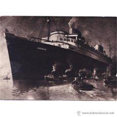Postales: BARCO BREMEN OCEAN COMFORT COMPANY M.B.H. BREMEN. Lote 50001949