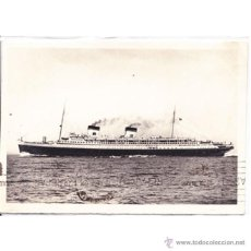 Postales: BARCO REX NASTRO AZURRO 1933 EDITOR RIZZOLI MILAN. Lote 50002023