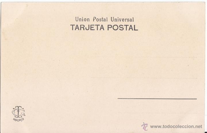 Postales: POSTAL ANTIGUA. BUSQUES INGLESES. CT MADRID. SIN CIRCULAR. BARCOS - Foto 2 - 50727503