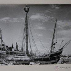 Postales: POSTAL CARABELA SANTA MARIA BARCELONA 1965. Lote 51003228