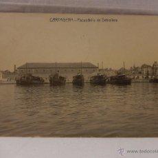 Postales: CARTAGENA. ESCUADRILLA DE DETROLLERS. CIRCULADA EN 1914. BARCO. BARCOS. BUQUE. BUQUES. MARINA. GUERR. Lote 51495919