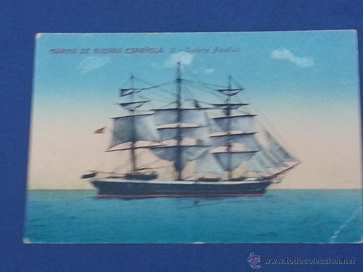 POSTAL CORBETA NAUTILUS MARINA DE GUERRA ESPAÑOLA (Postales - Postales Temáticas - Barcos)