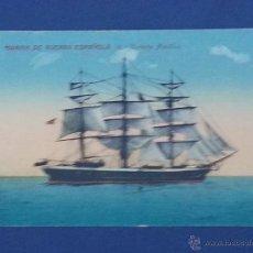 Postales: POSTAL CORBETA NAUTILUS MARINA DE GUERRA ESPAÑOLA. Lote 51604702
