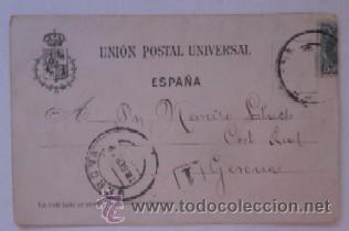Postales: PIO IX - SOCIEDAD ESPAÑOLA DE NAUFRAGOS - AÑO 1903 - Foto 2 - 51636331