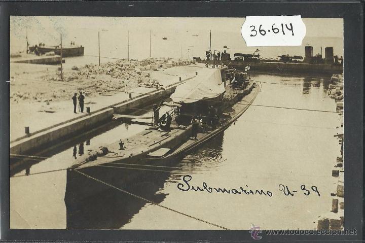SUBMARINO - FOTOGRAFICA - (36614) (Postales - Postales Temáticas - Barcos)