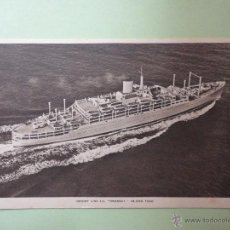 Postales: ORIENT LINE. ORONSAY. 28.000 TONS. . Lote 51994605