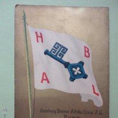 Postales: HAMBURG BREMER AFRIKA LINIE A.G. BREMEN. Lote 52300688