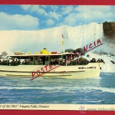 Postales: POSTAL BARCO, THE MAID OF THE MIST, NIAGARA FALLS, ONTARIO, P81522. Lote 52410231