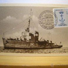 Postales: DRAGAMINAS NERVION - POSTAL ORIGINAL. Lote 53233765